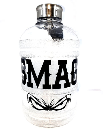 Transparent Bottle ESMAGA