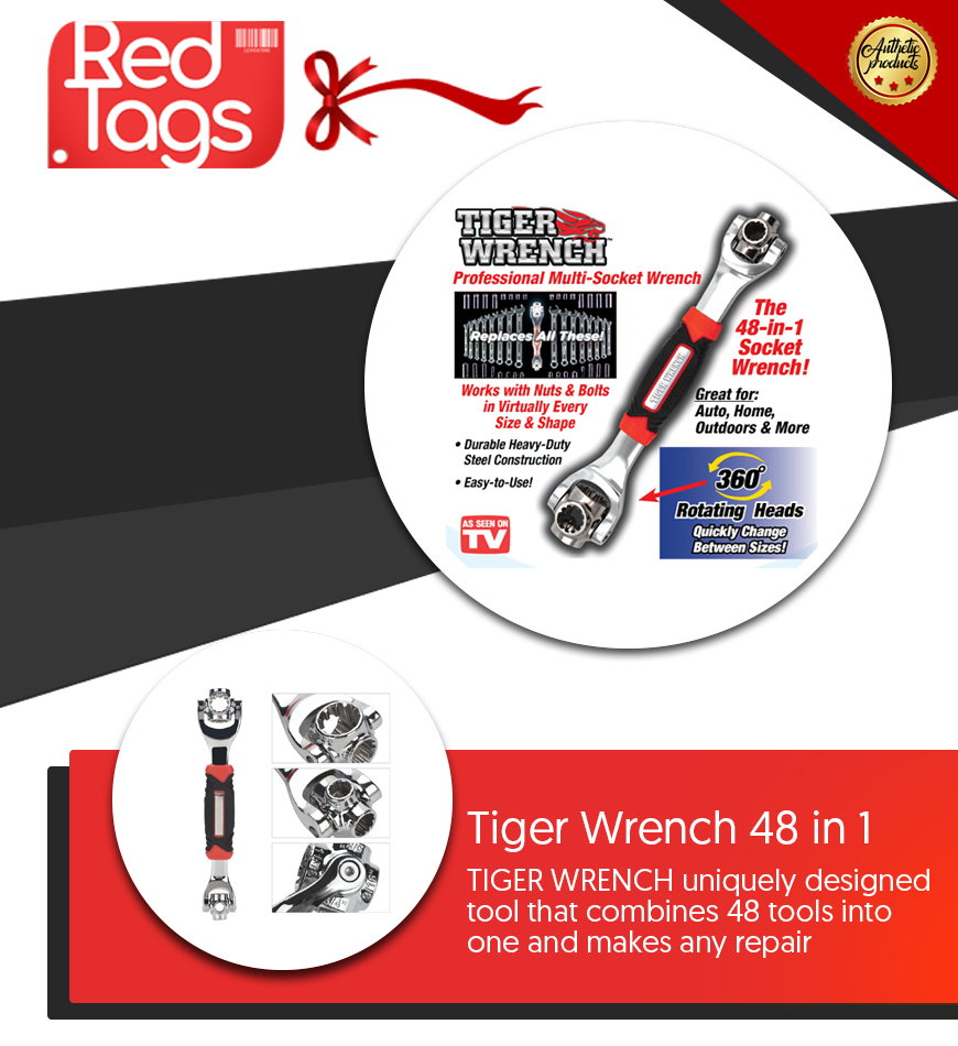 Tiger Wrench 48 in 1