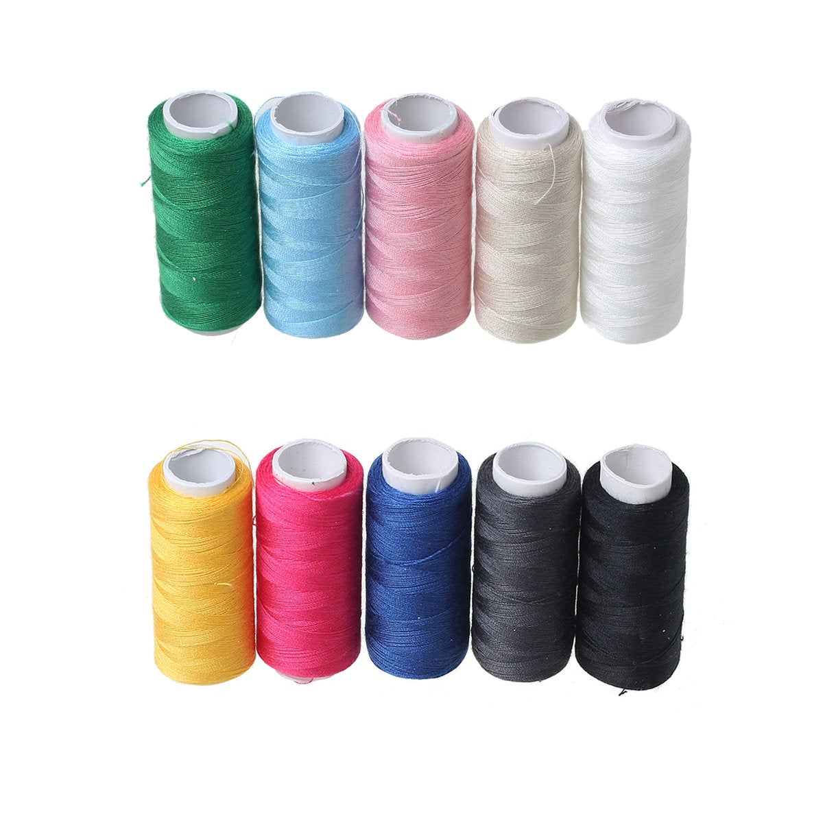 Sewing Thread - Multi Color - Polyester