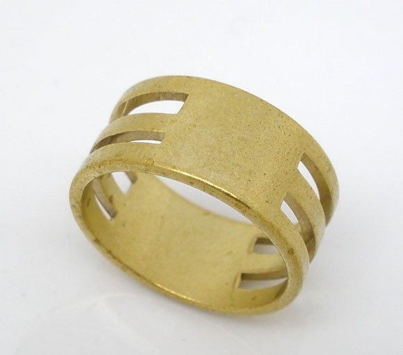 Gold Plated Open Jump Rings - 6mm x 1mm  - Jump Rings Gold Plated - Lead Nickel Safe -100/500 pieces  (03888)