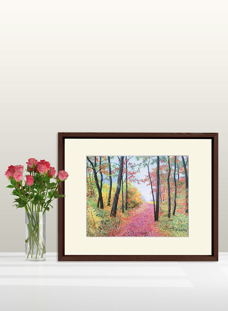 autumn's poetry art home decor