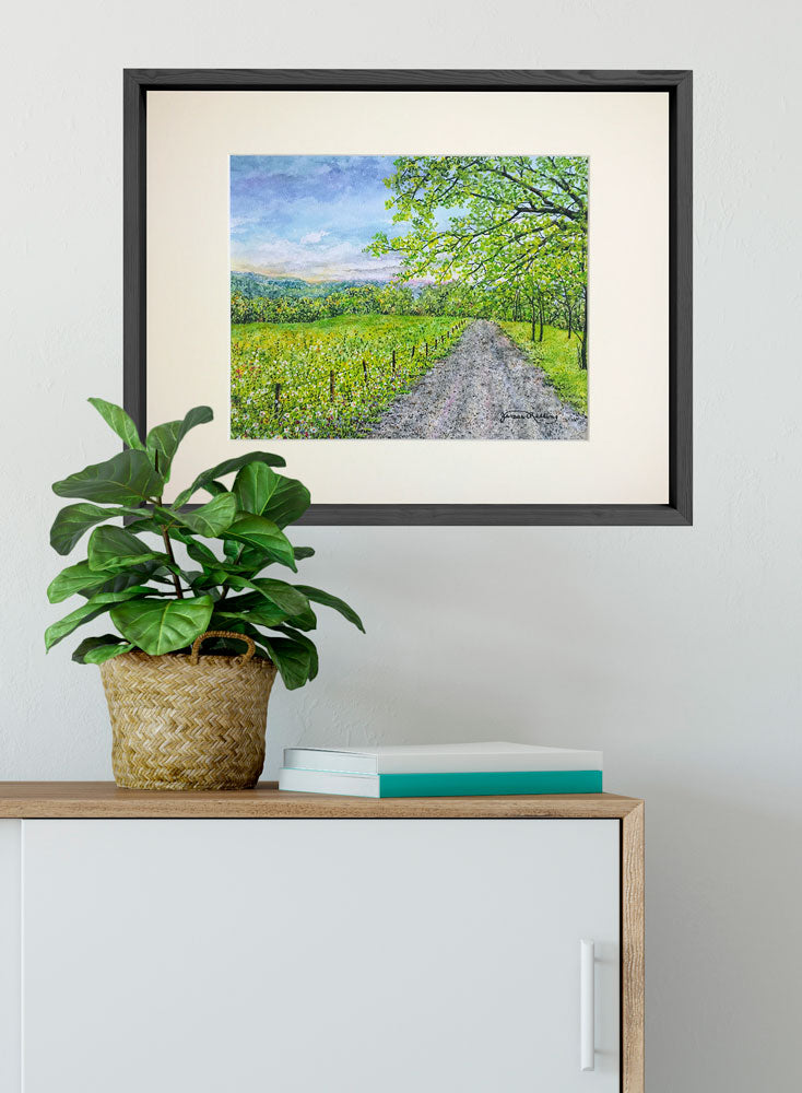 country road art home decor
