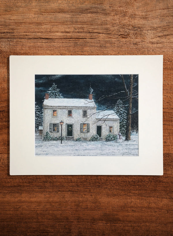 taylorsville house small landscape painting
