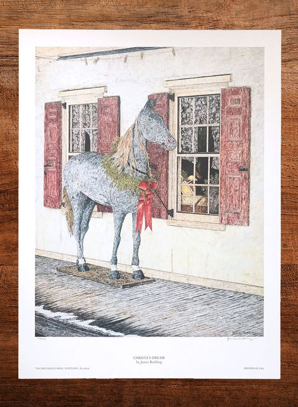 christa's dream horse painting