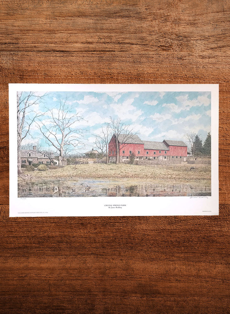 crystal springs farm landscape painting