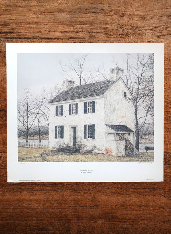 hibbs house landscape painting