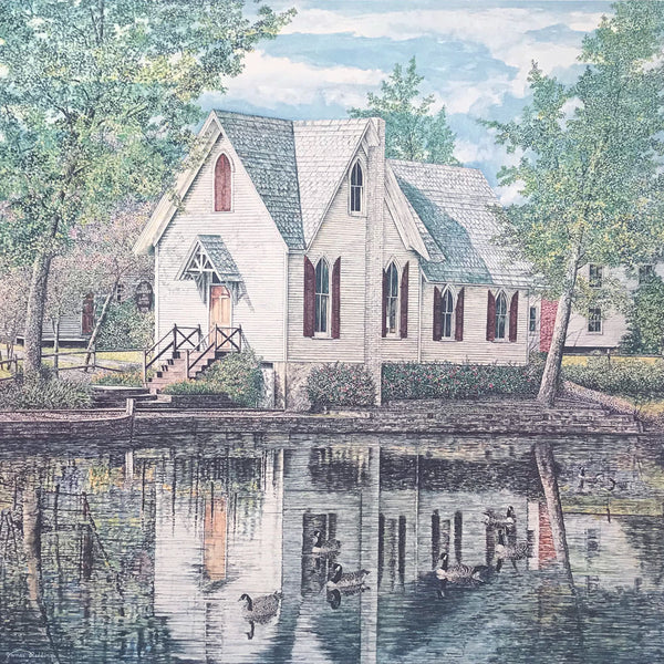 lake afton library fine art