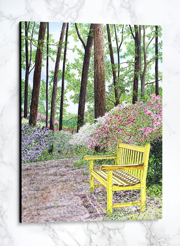 the meeting place canvas summer landscape painting
