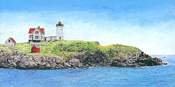 nubble light fine art painting