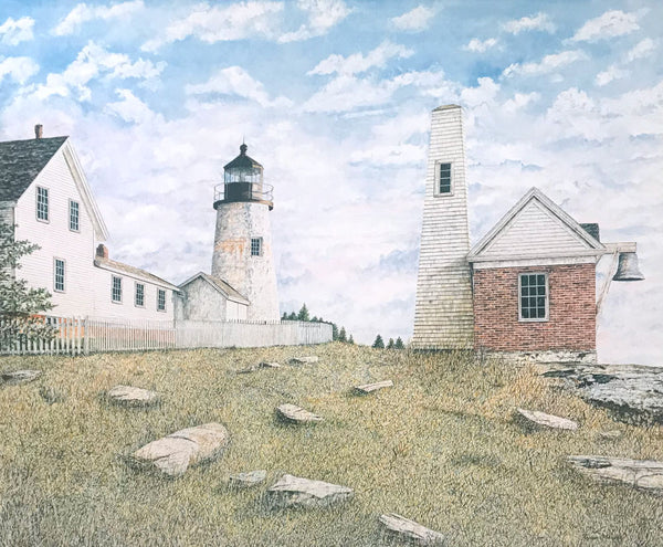 pemaquid point light fine art