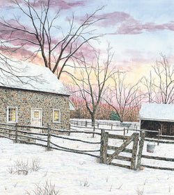 pennsbury manor fine art painting