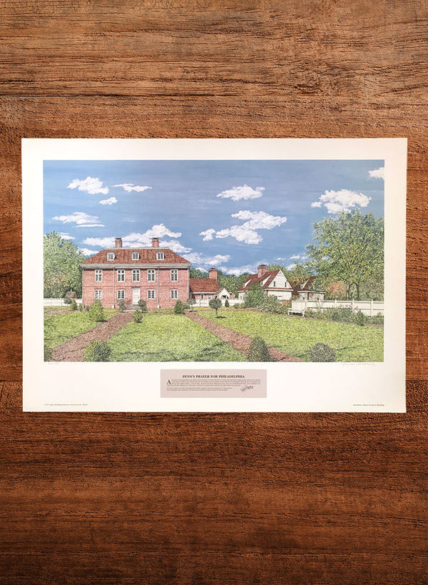 pennsbury manor landscape painting