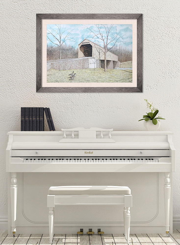 schofield ford bridge art home decor