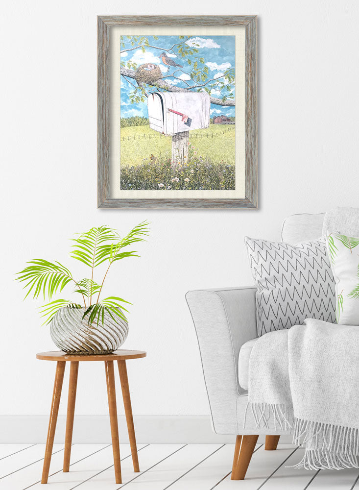 spring delivery art home decor