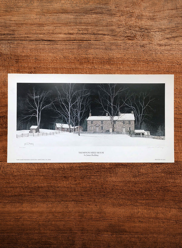 thompson-neely house landscape painting