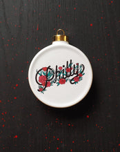 Albino Jackrabbit Philly Ornament