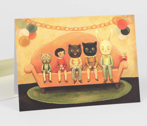 Emily Winfield Martin Costume Party Card