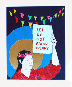 "Amy Rice ""Let Us Not Grow Weary"""