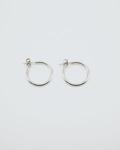 by ren Mini Sterling Silver Hoop