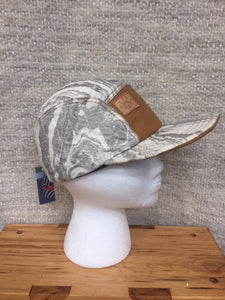 Ministry of Culture 5 Panel Camp Hat Gray Marble