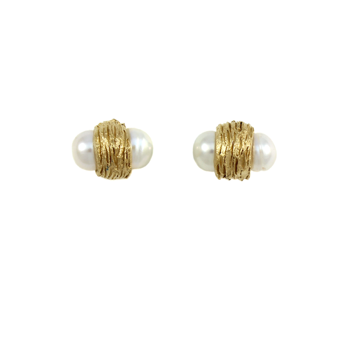 Amanda Hagerman Nested Double Pearl Studs