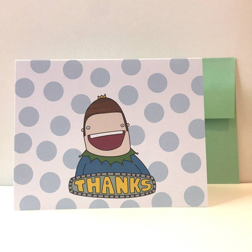 Box Robot Army Thanks Card