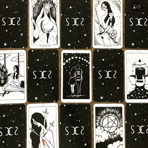 moon void tarot deck brooklyn