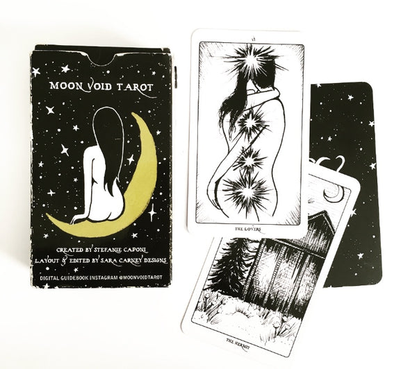 Moon Void Tarot deck