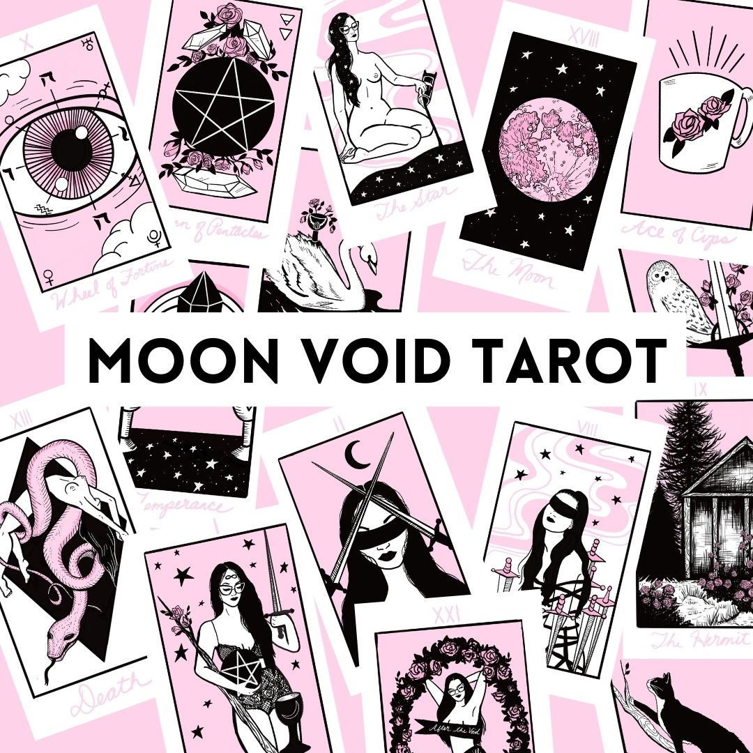Moon Void Tarot Deck 3rd Edition Kickstarter