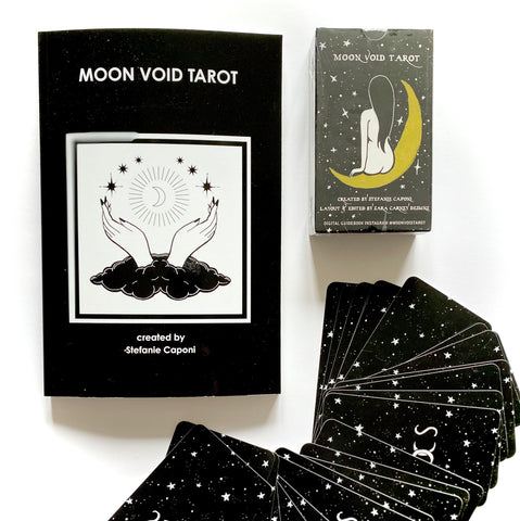 PRE-ORDER Bundle Moon Void Tarot Deck + Guidebook