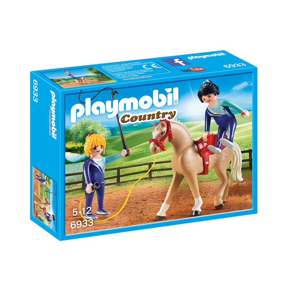 Playmobil 6933 Country - Reiterhof - Voltigier-Training