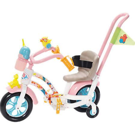 Zapf Creation 823699 Baby Born - Play & Fun Fahrrad