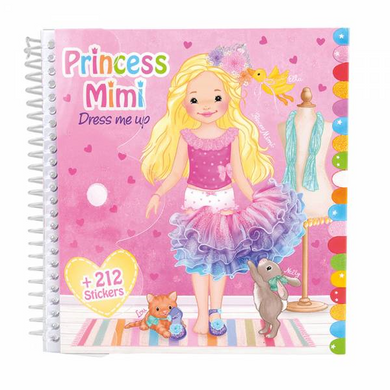 Depesche 8436 Princess Mimi My Style Princess - Stickerbuch dress me