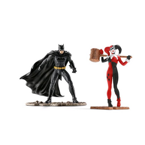 Schleich 22514 DC Comics - Scenery Pack Batman vs. Harley Quinn