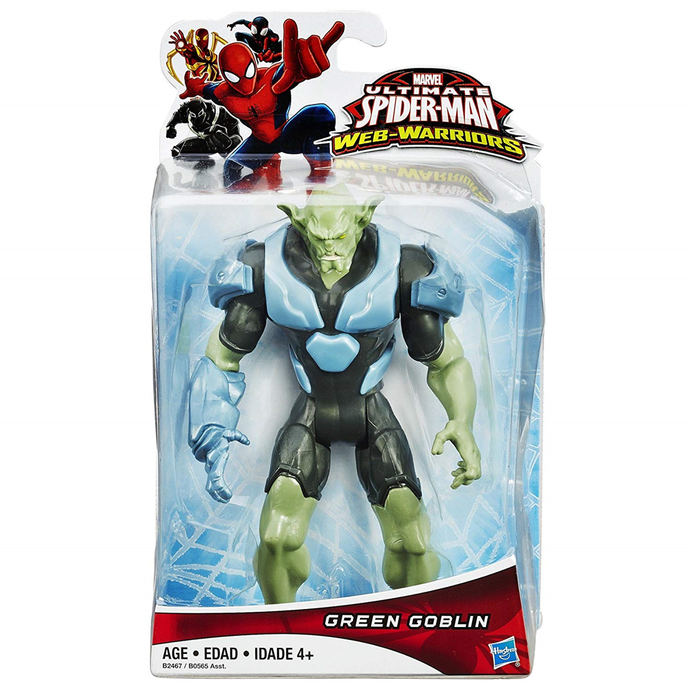 Hasbro B2467 Spiderman - Web Warriors - Green Goblin - ca. 15cm