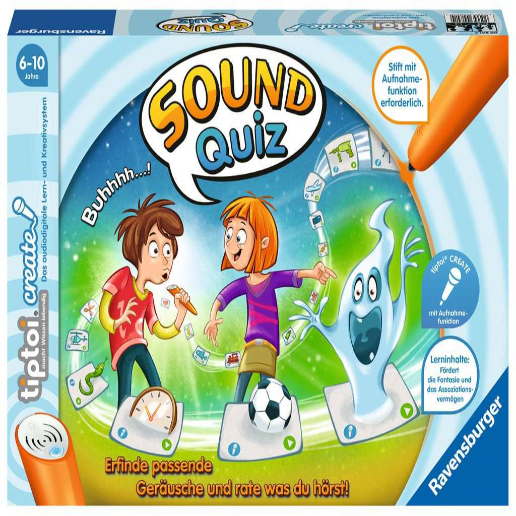 Ravensburger 00841 tiptoi - CREATE - Sound-Quiz