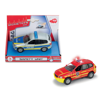 Simba Dickie 203712011 Dickie Toys Dickie Spielzeug Safety Unit- 2-sort. Die-Cast