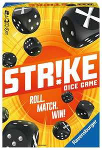 Ravensburger 26840 Strike -Dice Game - Roll Match Win
