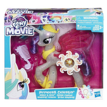 Hasbro E0190EU4 My Little Pony - Movie Leuchtzauber Prinzessin Celestia