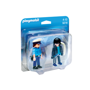 Playmobil 9218 Duo Pack Polizist und Langfinger