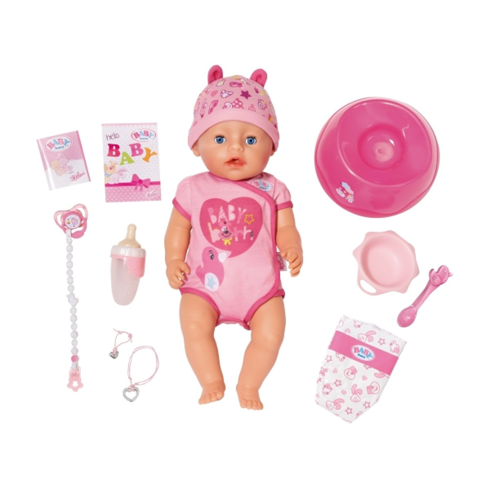 Zapf Creation 824368 Baby Born - Soft Touch - Girl