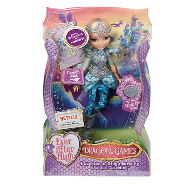 Mattel DHF36 Ever After High - Drachenspiele Darling
