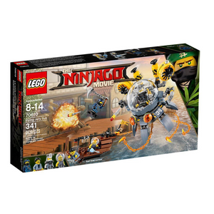 LEGO 70610 Ninjago Movie - Ninjago - Movie Turbo-Qualle