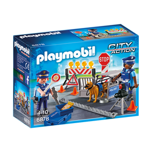 Playmobil 6878 City Action - Polizei-Straßensperre