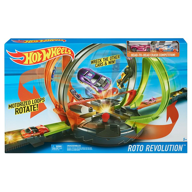 Mattel FDF26 Hot Wheels - Meglooping Crashbahn
