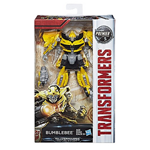 Hasbro C2962 Transformers - The Last Knight - Premier Deluxe Figur - Bumblebee