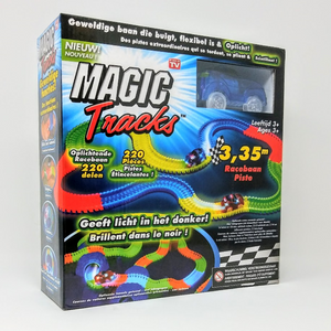 Broszio 100-7389 Magic Tracks Starter Set - blau