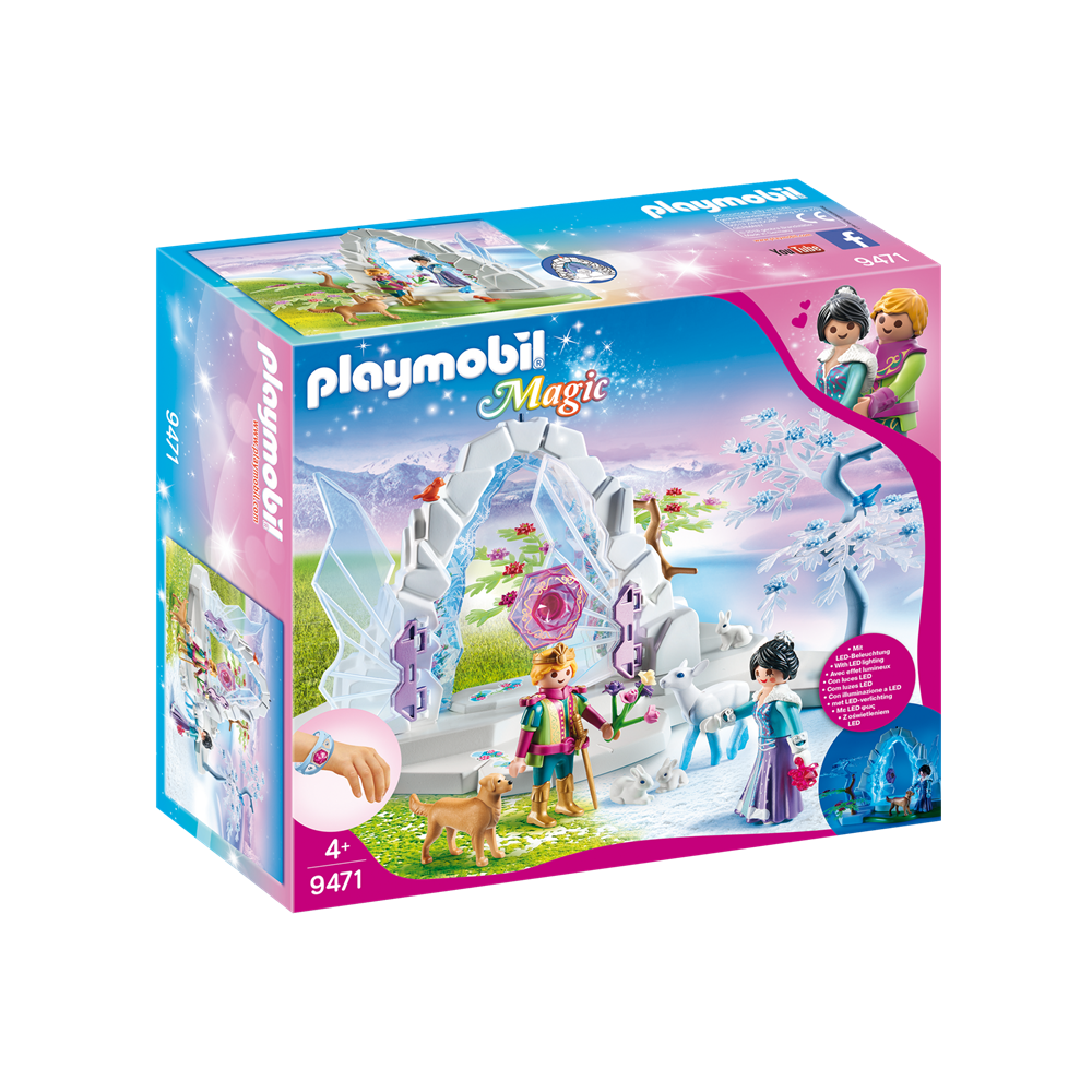 Playmobil 9471 Magic - Kristalltor zur Winterwelt