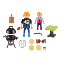 Playmobil 5649 Family Fun - Spiel-Koffer Grillparty