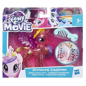 Hasbro E0185EU4 My Little Pony - Movie Glitzerparty Prinzessinnen sortiert